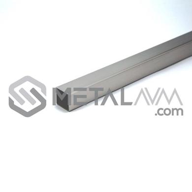 Paslanmaz Profil 20x20 mm 304 Kalite