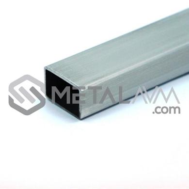 Paslanmaz Profil 60x30 mm 304 Kalite
